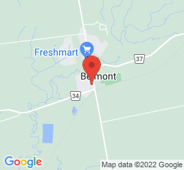 Google Map of 14011+Belmont+Road%2CBelmont%2COntario+N0L+1B0
