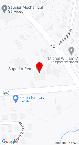 Google Map of Superior Equip & Supplies Inc. 1403 Meriden-Waterbury Road P.O. Box 57, Milldale, CT, 06467-0057