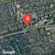 Satellite Map of 1403 Royal York Rd Unit 607, Toronto, Ontario