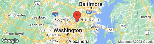 Map of 14037 VISTA DRIVE #170 LAUREL, MD 20707