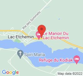 Google Map of 1404+Route+277%2CLac-etchemin%2CQuebec+G0R+1S0