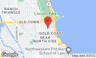 Map of 1407 North Dearborn Street CHICAGO, IL 60610