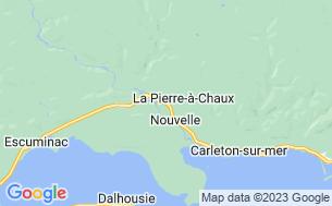 Map of Camping Zec Rivière-Nouvelle