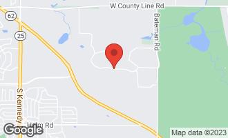 Map of 141 Deepwood Drive BARRINGTON HILLS, IL 60010