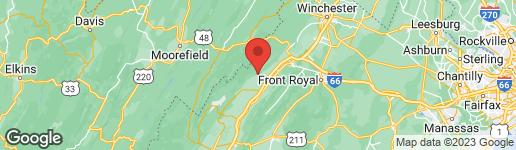Map of 141 WATKINS LANE MAURERTOWN, VA 22644