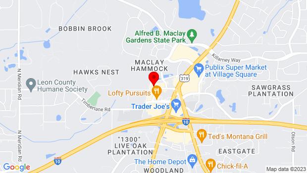 Google Map of 1410 Market St., Tallahassee, FL 32312