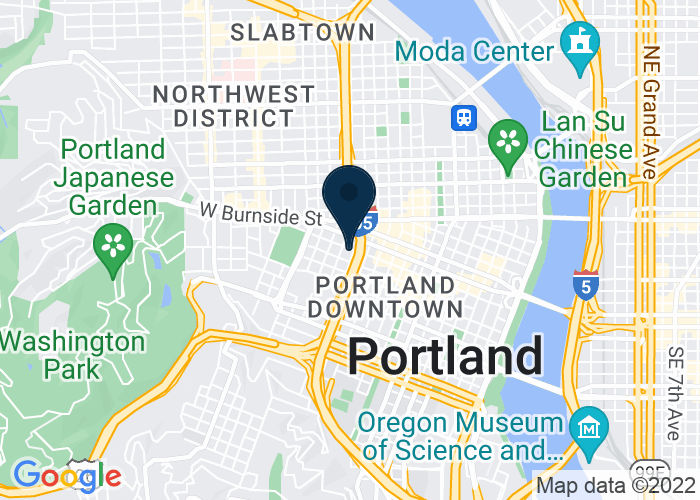 Map of 1410 SW Morrison Street, Portland, OR 97201, United States