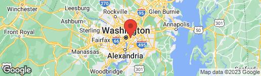 Map of 1410 MONTELLO AVENUE NE #2 WASHINGTON, DC 20002
