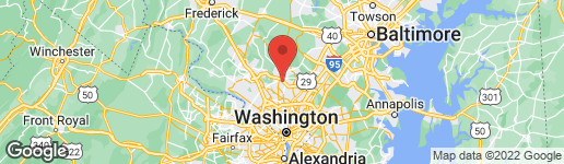 Map of 14106 VALLEYFIELD DRIVE 1-6 SILVER SPRING, MD 20906
