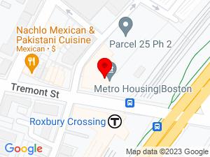 Google Map of Metro Housing Boston (formerly MBHP)