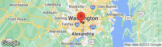 Map of 1411 KEY BOULEVARD #106 ARLINGTON, VA 22209