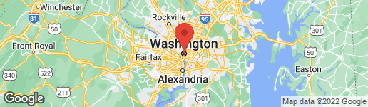 Map of 1412 15TH STREET NW #4 WASHINGTON, DC 20005