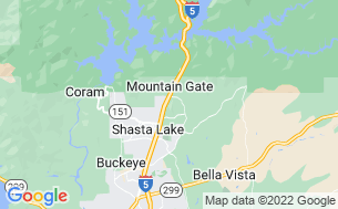 Map of Mountain Gate RV Park & Cottages