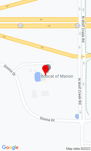 Google Map of Bobcat of Marion 1417 Donna Drive, Carterville, IL, 62918