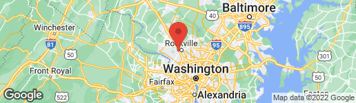 Map of 1417 FALLSMEAD WAY POTOMAC, MD 20854