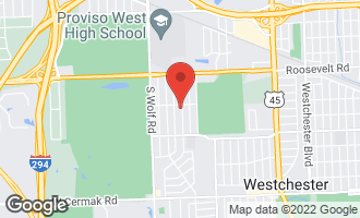 Map of 1418 Mandel Avenue WESTCHESTER, IL 60154