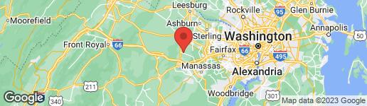 Map of 14182 WYNGATE DRIVE GAINESVILLE, VA 20155