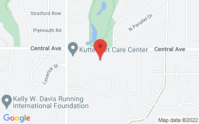 Map of The Mapleton Andover