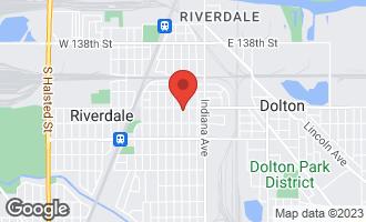 Map of 14207 South Wabash Avenue RIVERDALE, IL 60827