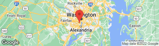 Map of 1422 21ST STREET S ARLINGTON, VA 22202