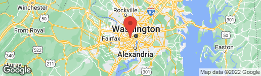 Map of 1422 HERNDON STREET N ARLINGTON, VA 22207