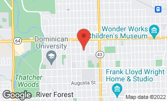 Map of 1422 William Street RIVER FOREST, IL 60305