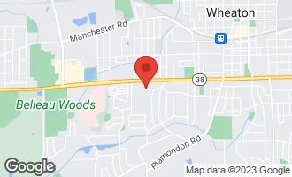 Map of 1422 Woodcutter Lane D WHEATON, IL 60189