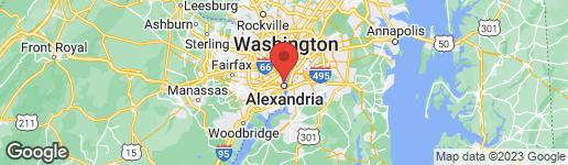 Map of 1423 Powhatan Street #1 Alexandria, VA 22314