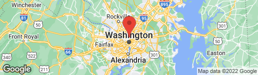 Map of 1424 BUCHANAN STREET NW #2 WASHINGTON, DC 20011