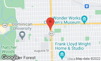 Map of 1424 North Harlem Avenue C RIVER FOREST, IL 60305