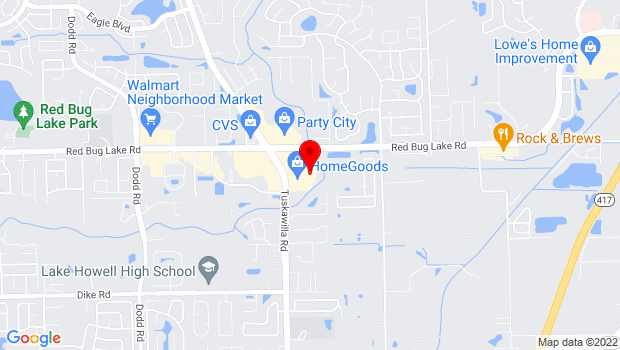 Google Map of 1425 Tuskawilla Rd, Ste 181,, Winter Springs, FL
