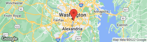 Map of 1425 4TH STREET SW A615 WASHINGTON, DC 20024