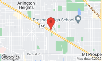 Map of 1426 East Northwest Highway ARLINGTON HEIGHTS, IL 60004