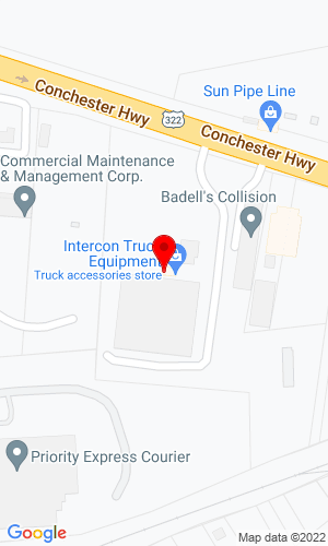 Google Map of Intercon Truck Equipment 142A Conchester Hwy, Aston, PA , 19014