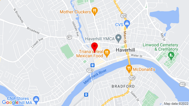 Google Map of 143 Essex St. Suite 211, Haverhill, MA 01832