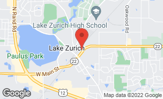 Map of 143 East Main Street LAKE ZURICH, IL 60047