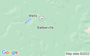Map of Barkerville Campgrounds