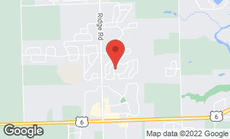 Map of 1432 Red Top Lane MINOOKA, IL 60447