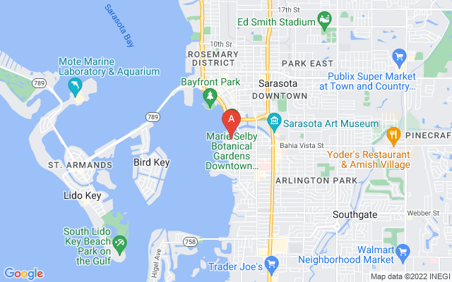 1433 Bay Point Dr Sarasota Florida 34236 locatior map