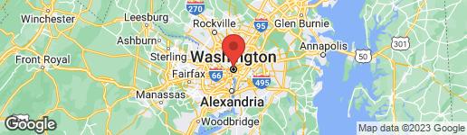 Map of 1434 T STREET NW 2 (REAR/LOWER LEVEL) WASHINGTON, DC 20009