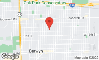 Map of 1435 Scoville Avenue BERWYN, IL 60402