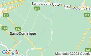 Map of Camping Domaine La Détente