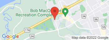 Google Map of 1438+Youville+Drive%2COttawa%2COntario+K1C+2X8