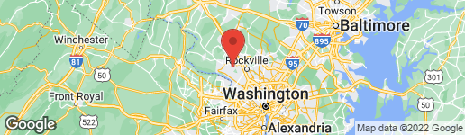 Map of 14405 RICH BRANCH DRIVE NORTH POTOMAC, MD 20878