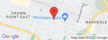 Google Map of 145+Melvin+Avenue%2CHamilton%2COntario+L8H+7R2