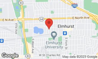 Map of 145 North Walnut Street ELMHURST, IL 60126