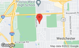 Map of 1450 Boeger Avenue WESTCHESTER, IL 60154