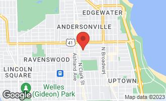 Map of 1455 West Carmen Avenue 1E Chicago, IL 60640