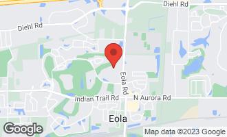 Map of 1456 Radcliff Lane AURORA, IL 60502