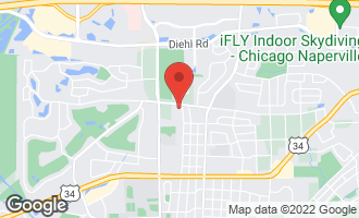 Map of 1457 North Eagle Street NAPERVILLE, IL 60563